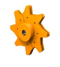 Segmental Replaceable Sprocket