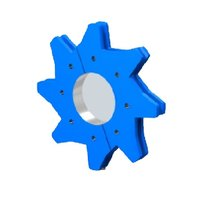 Split Type Sprocket For Redler Chain