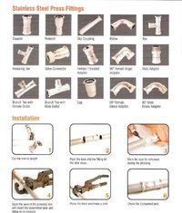 J-Press Stainless Steel Pipes And Fittings