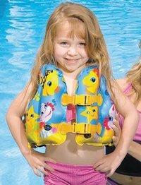 Inflatable Fun Fish Swim Vest