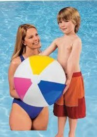 Inflatable Glossy Panel Beach Ball