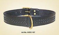 Leather Studs Dog Collar