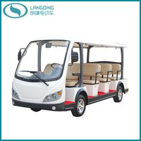 Electric Car Shuttle Tourist Coach