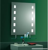 Led Wall Mounted Magnifying Shaving Mirror At Best Price