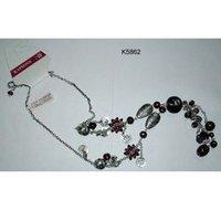 Aluminum Bead Necklace