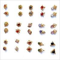Glass Beads Stylish Earrings