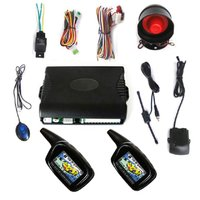 New Super Long Distance (3000M) 2 Way Car Alarm System With LCD Display
