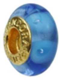 Pandora Golden Plated Murano Glass Bead