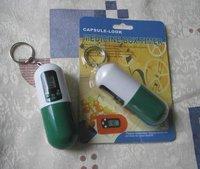 Capsule Shaped Pill Box