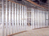 Cheap Drywall Partition Zinc Coated Stud