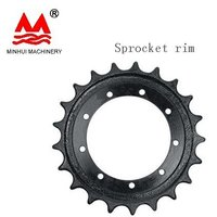Excavator Under Carriage Sprocket Rim PC130