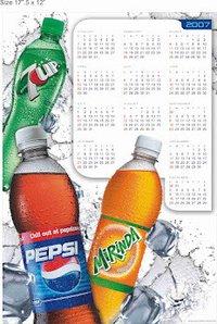 Embossed Calendars