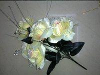 7h Big Rose Bunch Artificial Flower