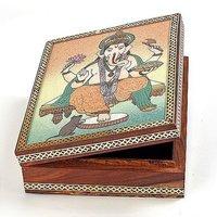 Gemstone Painting Jewellery Box