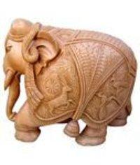 Wood Carving Elephants