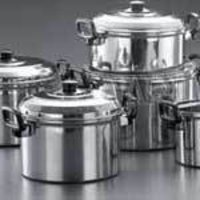 Steel Stock Pot