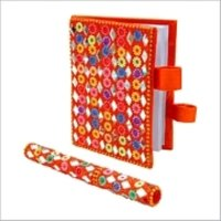 Decorative Pen With Diary
