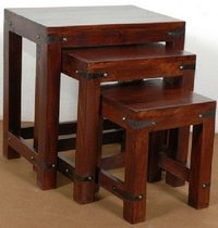 Wooden Nested Table