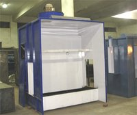 Liquid Paint Booth