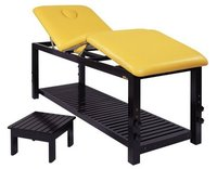 Adjustable Solid Wood Beauty Facial Massage Table