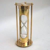Brass Glass Sand Timer