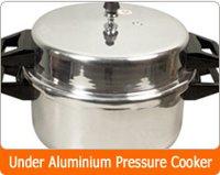 Under Aluminium Pressure Cooker