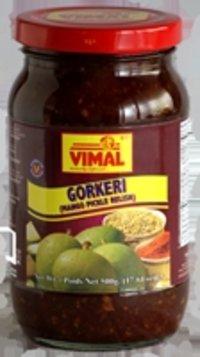 Gorkeri (Mango Pickle Relish)