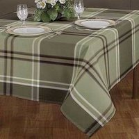 Checked Table Cloth