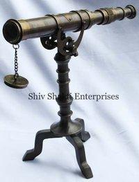 Antique Nautical Telescope
