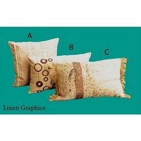 Linen Graphics Cushion Covers
