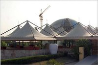 Galvanized Finish Pagoda Canopy For Event And Exhibition