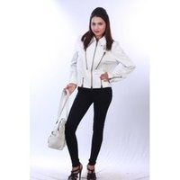 Ladies Leather Short Jackets