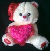 Soft Toy Birthday Cap Dil Heart