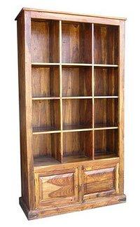 Fancy Wooden Book Shelves
