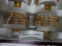 Artificial Diamond Bangles