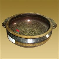 Brass Urly (Bowl) Carved