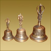 Tibetan Singing Bell (Small) With Dorjee