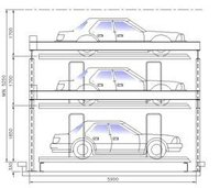 2 Level and 5 Car Parking System