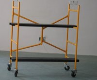 4 Ft Steel Mini Foldable Scaffold Set