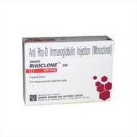 Rhoclone Anti Rho D Immunoglobulin Injection
