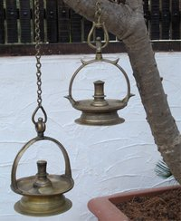 Hanging Oil Lamps
