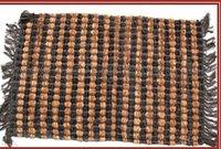 Leather Cut Shuttle Rugs
