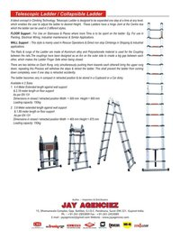Retractable Aluminum Ladder