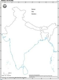 Outline Map Wholesalers Suppliers Of Outline Map India