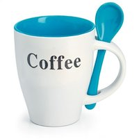 Promotional Coffee Mug With Spoon