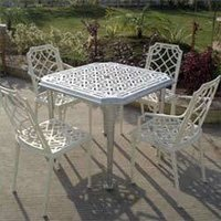 Cast Aluminum Outdoor Seating