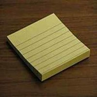 Repositionable Writing Pads