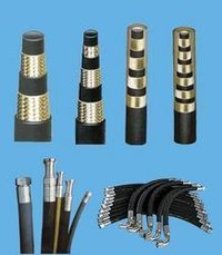 Rubber Hydraulic Hoses And Fittings