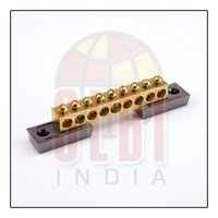 Brass Electrical Earthing Neutral Bars