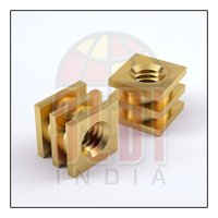 Brass Square Moulding Nuts